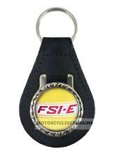 YAMAHA FS1E FIZZY  MOTORCYCLE  leather  keyring keychain keyfob