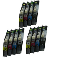 12x Ink Cartridges LC123 123 Compatible For Brother MFC-J4410DW J4510DW J4610DW