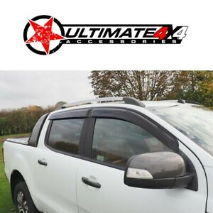 4 Door Weather Shields suits FORD RANGER PX1/PX2/PX3 2012+