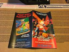 Color Custom Manual EL VIENTO SEGA Mega Drive USA Version - AAA+++