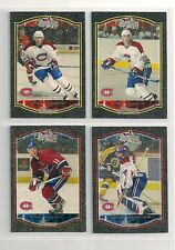 2002-03 Bowman Young Stars GOLD Lot of 4 Montreal Canadiens /250