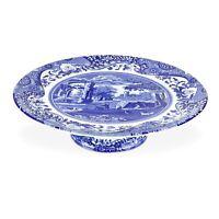 Portmeirion Spode Footed Cake Plate, Blue Italian (1503731)