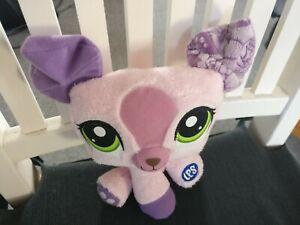 Kuscheltier / Stofftier Littlest Pet Shop - rosa -