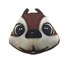 Lagiwa® Porte-monnaie Tête Animal ECUREUIL tissu avec fermeture éclair + 1 KDO