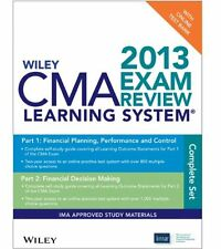 NEW Wiley CMA Learning System Exam Review 2013, Test Bank by IMA