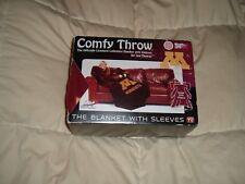 Comfy Throw Fleece Blanket w/ Sleeves Licensed College- Minnesota Golden Gophers