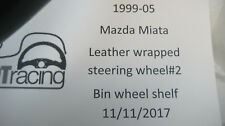 1999-05 Mazda Miata leather wrapped steering wheel #2