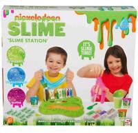 Nickelodeon Slime Estación Crear Tu Propio Kit 10 Varieties Playset de Juguete