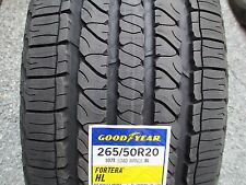 4 New 265/50R20 Inch Goodyear Fortera HL Tires 265 50 20 R20 2655020 50R