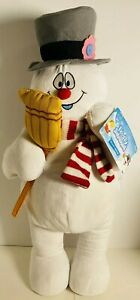 (1) Warner Brothers FROSTY THE SNOWMAN 2018 Holiday Greeter NEW WITH TAG!!!