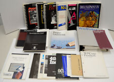 Software/Game Manual Only Lot (no disks) For Commodore Amiga 500 Computer Vtg