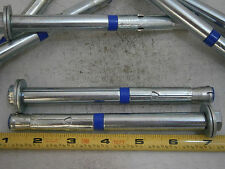 5 POWERS FASTENERS POWER-STUD 3//4 X 4 1//4 LONG THREAD ANCHORS 07440