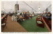 Cincinnati, Ohio -  The Upholstery Department at John Shillito Company - c1925