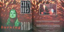 DISCO 45 GIRI    CRAZY HOUSE – BURNING RAIN // GARDEN OF LUCK