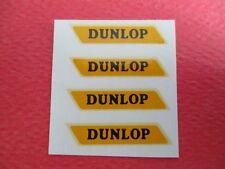 DINKY TOYS LOT DE 4  DECALS //DUNLOP //  TRANSFERT   1/43 EME NEUF