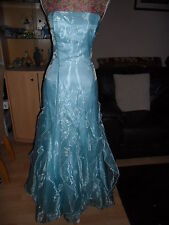 TRULY STUNNING DRESS IDEAL FOR A BALL OR PROM BY JESSICA McCLINTOCK SIZE 10