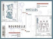 FRANCE 2011...Miniature Sheet n° F4626 MNH...ANTOINE BOURDELLE SCULPTURES