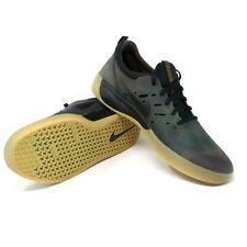 Nike SB Nyjah Free Premium Camo Gum Black Skate Skateboarding Mens Size 11