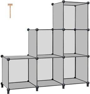 Cube Storage 6-Cube Book Shelf Storage Shelves Closet Organizer Cube Organizer