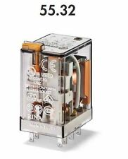 FINDER 55.32.8.012.0040 RELE' INDUSRIALE 10 A - 250V - 12 VAC - 2 CONTATTI