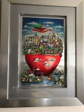 "Charles Fazzino 3D     ""The Big Apple Shines Bright""     Printer's Proof"