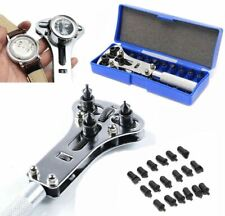 Kit Battery Screw Cover Remover 17-37 mm Watch Band Back Case Opener Repair Tool