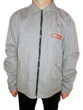 Mens LEVIS Vtg Retro Striped Reversible Classic Mod Casual Jacket sz XL AG17
