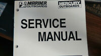 MERCURY SERVICE MANUAL PART# 90-857046 FOR O/B 30/40 4S MARINER OUTBOARD ENGINES