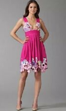 165. NWT $495 CATHERINE MALANDRINO PINK SAMBALA CUT-OUT EMBROIDERY  DRESS  4