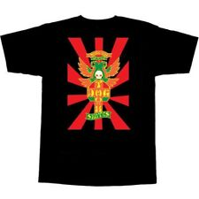 Dogtown Shogo Kubo Skateboard T Shirt Black Medium