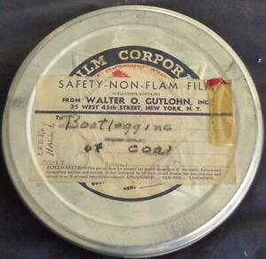 Antique 8mm Film Reel – Bootlegging of Coal – Print 9 – Broken Dreams–LeRoy Hall
