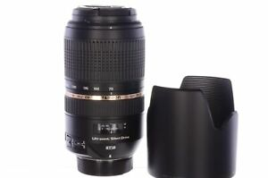 Tamron 70-300mm f4-5.6 Di VC USD, Nikon fitting, with hood and box, superb co...