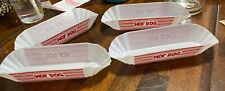 Plastic 4 Hot Dog Holders