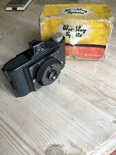 Vintage Wembley Sports Camera With Case 1950s Bakelite? Rondex Rapid Shutter