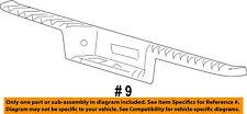 FORD OEM Rear Bumper-Step Pad Protector Scratch Guard Cover 7L3Z17B807B