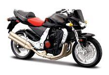 Motorrad Modell 1:18 Kawasaki Z 1000 schwarz von Maisto mit Wunschkennzeichen