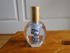 Inside - painted Perfume Bottle with Sights Design