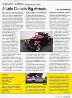 1939 Bantam Hollywood - Escape Road -  Classic Article A51-B