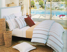 MORRIS CHECK King Size Fitted Set + 2 Europe P/Cs - 225TC 100% Cotton BNIPack