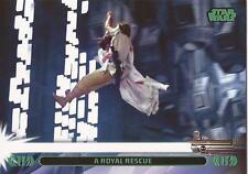 "Star Wars Jedi Legacy - Green Parallel Card 11L ""Rescues Princess Leia"""