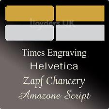 Engraved Trophy Plaques, Picture Plates, Trophy Plates, Trophy Awards Film Cells