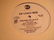 """DA LENCH MOB-FREEDOM GOT AN A.K. 5 MIXES-EAST WEST-DMD 1936 VG+ 12"""""""