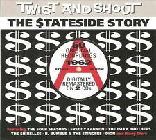 TWIST AND SHOUT THE STATESIDE STORY 1962 - 2 CD BOX SET