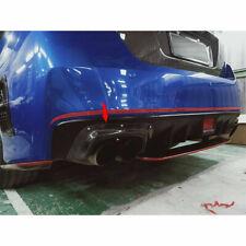 Carbon Fiber For Subaru WRX STI 4th Exhaust Pipe Cover Sedan Exterior Sedan Rear