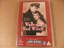 WAKE OF THE RED WITCH DVD JOHN WAYNE GAIL RUSSELL GIG YOUNG FILM MOVIE RARE