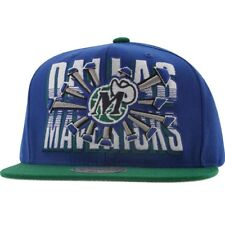 Mitchell And Ness Dallas Mavericks Backboard Breaker Snapback Cap (royal / green