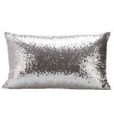Super Shine Small Sequins Cushion Glitter Cover Throw Pillow Case Decor 7 Colors