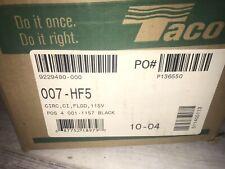 New Listingtaco Cast Iron Cartridge Circulator Pump 007 Hf5 125 Hp 115v Brand New