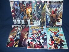 The Mighty Avengers #1 -#12 (2007) Nm Marvel with Bag and Board