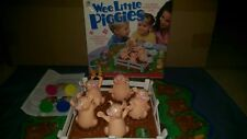 RARE Complete Wee Little Piggies 2001 Milton Bradley Game ready to play